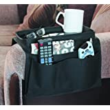 Arm Rest Organiser - Armchair Companion - keep all your items in one place - 6 pockets