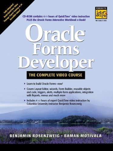 Oracle Forms Developer - The Complete Video Course [VHS]