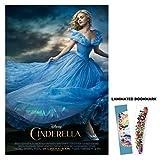 Cinderella (2015) 13x19 Borderless Movie Poster Main + FREE BOOKMARK