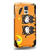 Case88 Premium Designs Hello Kitty Collection Halloween Hello Kitty Protective Snap-on Hard Back Case Cover for Samsung Galaxy S5