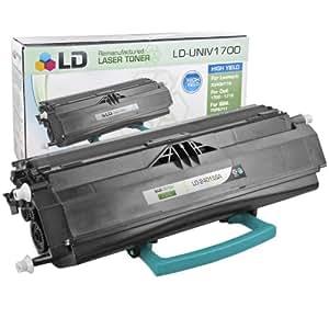LD © Remanufactured Standard Yield Black Laser Toner Cartridge for Lexmark 24015SA