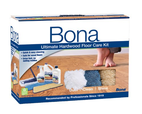 Floor Cleaner Bona Ultimate Hardwood Care Kit System Non