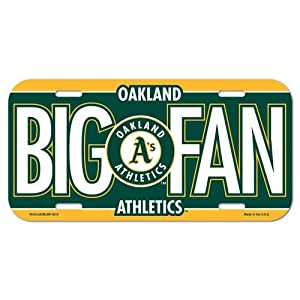 MLB Oakland Athletics License Plate