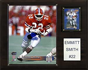 NCAA Football Emmitt Smith Florida Gators Player Plaque