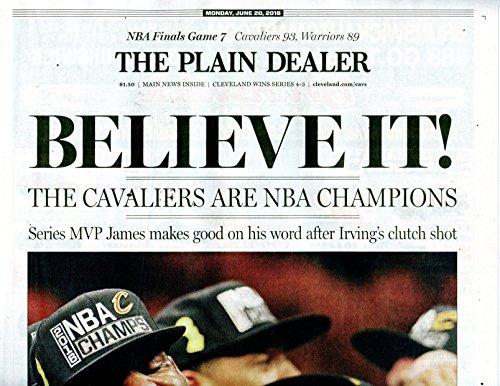 Cleveland-Plain-Dealer-6202016-Cavs-Championship-Ed-Cavaliers-Collectors-Item