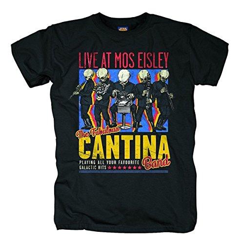 Bravado-Star-Wars-The-Fabulous-Cantina-Band-Camiseta-Hombre