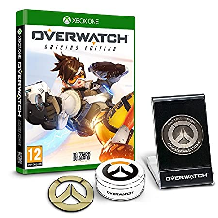 Overwatch Origins Edition - 'Memory of War' Metal Coin & Metal Badge Bundle (Exclusive to Amazon.co.uk) (Xbox One)