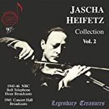 The Jascha Heifetz Collection - Vol. 2 : Oeuvres De Bazzini, Prokofiev, Bennette, Mozart, Novacek, D