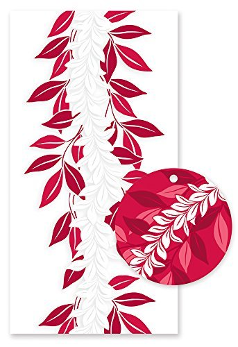 Hawaiian Candy Lei Kit Maile Red