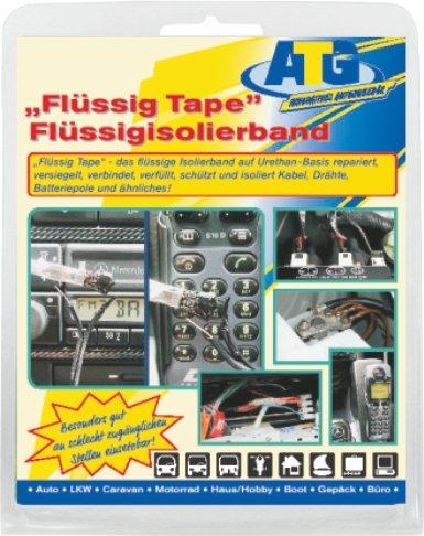 Liquid Tape Liquid Electrical Tape (Black) Atg009Us