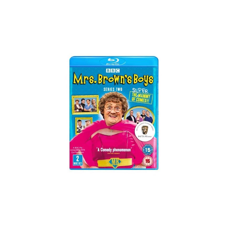 Mrs. Browns Boys (Series 2)   2 Disc Set ( Mrs. Browns Boys   Series Two ) [ NON USA FORMAT, Blu Ray, Reg.B Import   United Kingdom ]