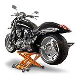 Motorcycle Jack Scissor Hydraulic Lift ConStands XL orange for Honda Shadow VT 125 C, Shadow VT 600 C, Shadow VT 750 C C2 C4, Shadow VT 750 Spirit, Varadero 125