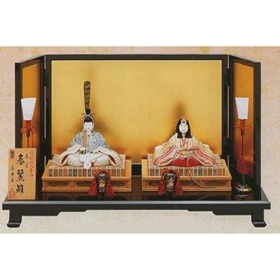 真多呂・作:親王飾り「本金 春麗雛」(1816)