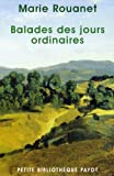 img - for Balades des jours ordinaires book / textbook / text book