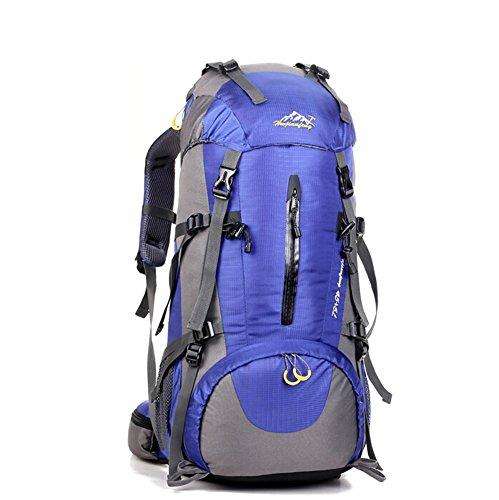 Grand voyage de capacité sac / alpinisme sacs / sac à dos en plein air / sac de sport imperméables-bleu 50L