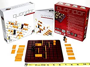 Gigamic Games Quoridor Mini Strategy Game