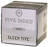 Sleep Tite by Malouf FIVE-5IDED Mattress Protector - 100% Waterproof-Elimin ....