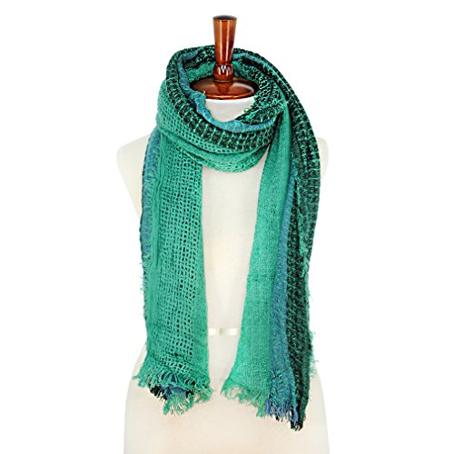Basico Women Winter Warm Knit Long Scarf Shawl ** Various Colors **