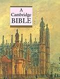 echange, troc  - A Cambridge Bible: King James Verson Black Imitation Leather Gilt Edges Bible Reading Guide Index Pages