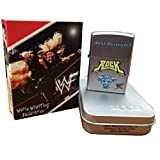 Zippo WWF Wrestling the Rock Just Bring It Satin Chrome Lighter 205wwf716