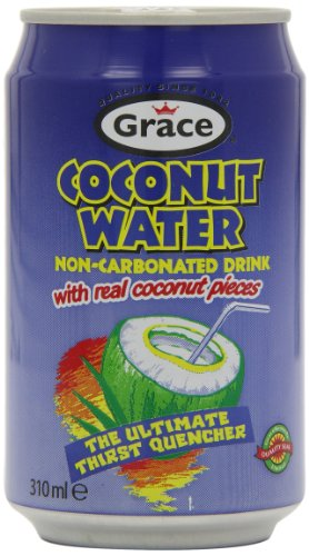 Grace Coconut Water with Pulp 310 ml (Pack of 12)