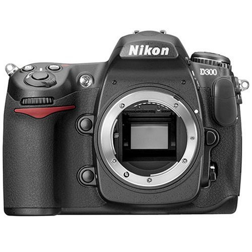 Nikon D300 DX 12.3MP Digital SLR Camera (Body Only)