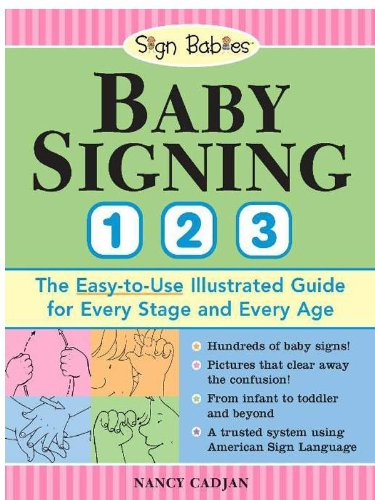 Baby Signing 1-2-3: The Easy-To-Use Illustrated Guide For Every Stage And Every Age front-103317