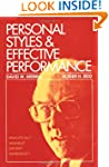 Personal Styles & Effective Performan...