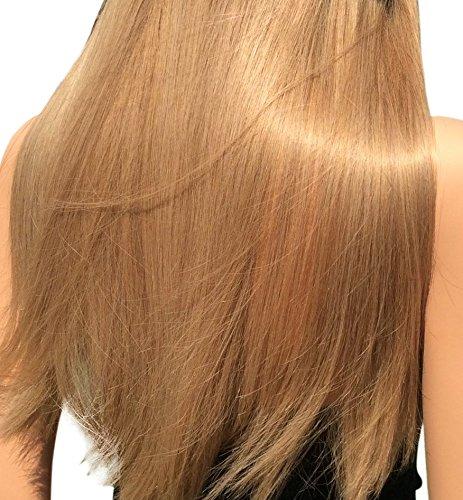 "Shantique Halo Hair Extensions Color #14 Size 12"". 100% Remy Brazilian Unprocessed Human Hair"