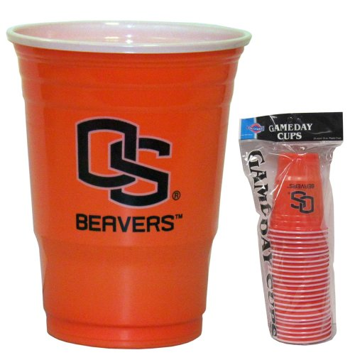 Oregon St. Beavers Plastic Game Day Cups