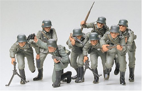 German Assault Infantry Troops 1/35 Tamiya - 1