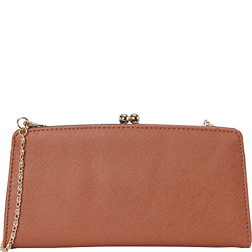 rebecca-rifka-faux-leather-frame-wallet-cognac