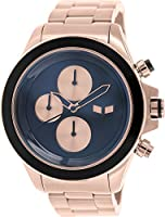 Vestal Unisex ZR2001 ZR-2 Minimalist Polished Silver Chronograph Watch from Vestal