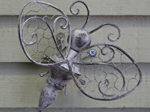Vintage Style Bee Wall Art For The Garden Or Conservatory
