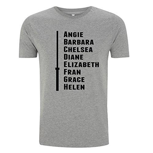 Go Heavy Uomo Shirt - The CrossFit Girls: Angie, Barbara ... - (L)