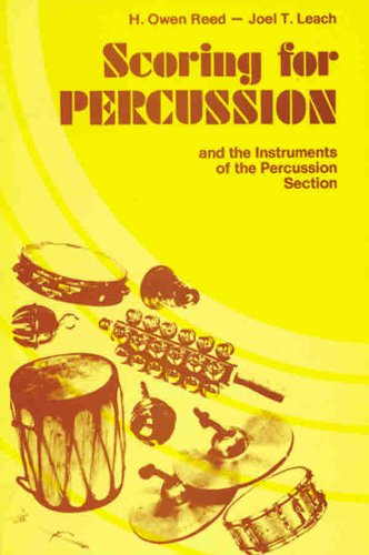 Scoring for Percussion