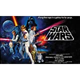 RoomMates JL1217M Star Wars Classic Prepasted Chair Rail Wall Mural