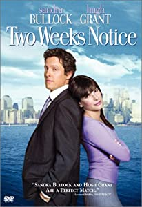 "Cover of ""Two Weeks Notice (Widescreen Ed..."