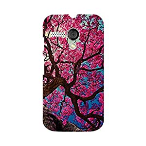 Skintice Designer Back Cover with direct 3D sublimation printing for Moto G