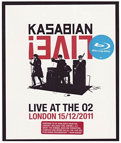 Kasabian - Live at the 02 - London 15/12/2011(+CD)
