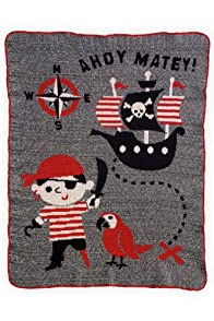 Green 3 Apparel Recycled USA-made Pirates Throw