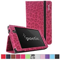 Poetic Slimbook Case for Google Nexus 7 2nd Gen 2013 (Leopard Pattern) 日本正規品