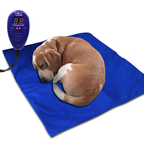 IB-SOUND Heating Pads for pets, Warming Dog Beds (Medium&Blue) (Cat Sleeping Pad compare prices)