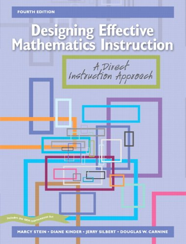 Designing Effective Mathematics Instruction: A Direct...