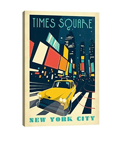 Anderson Design Group New York City, New York Times Square Canvas Print, Multi, 26 x 18
