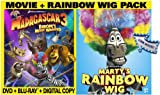 Madagascar 3:  Europes Most Wanted (Two-Disc Blu-ray/DVD Combo + Digital Copy + UltraViolet and Rainbow Wig)