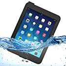 Ultraproof Waterproof Protective Case for iPad Air [Lifetime Warranty] with Built-in Transparent Screen Protector - iPad Air Case / iPad Air Waterproof Case Fits Any Version of Apple iPad Air (First Generation) - Slimmest Profile with Capability of WaterPROOF, ShockPROOF, SandPROOF, SnowPROOF, DirtPROOF [Not Compatible with iPad Air 2]