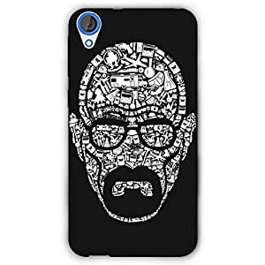 EYP Breaking Bad Heisenberg Back Cover Case for HTC Desire 820 Dual Sim