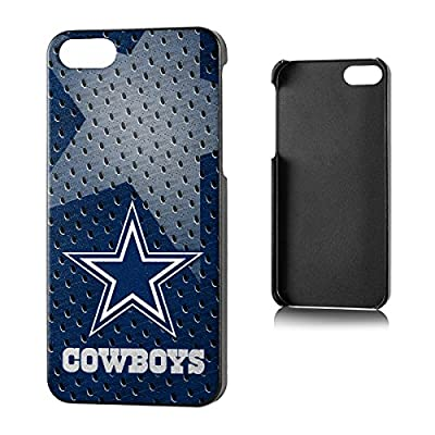 Team Pro Mark Licensed NFL Dallas Cowboys Slim Series Protector Case for Apple iPhone 5/5S - Retail Packaging - Blue/White