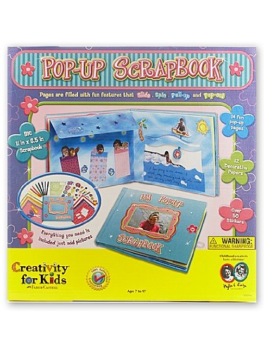 Creativity for Kids Pop Up Scrapbook Kit